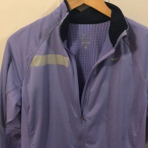 Nike Full Zip Long Sleeve Dri-Fit Workout top
